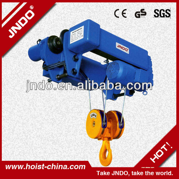 crane lifting geared trolley hoist
