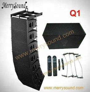 Dual 10inch line array, Q1 Q-SUB ,passive q1 line array speakers for outdoor sound systems pro audio