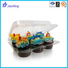 Custom Various Types Plastic Cupcake Container Packaging Box for Take Out