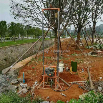homemade drilling equipment for bore well; small water well drill rigs for sale