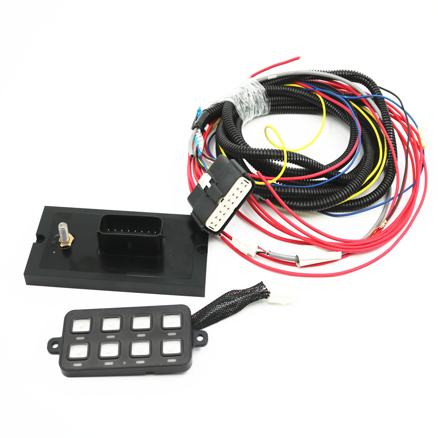Push Button Switch Panel Power System For Jeep Jk Utv Atv Off Road Electrical Wiring Buy Switchswitch Panelautomatic Transfer Switches Product On