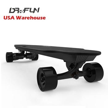 97bd25bea4f8 Dual motor e board longboard USA warehouse fast Speed 45km/h electric  skateboard