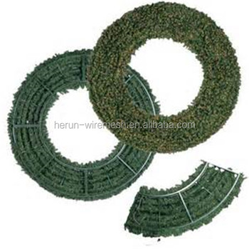 Hr Metal Wire Wreath Frames For Christmas Tree Garden Use Buy
