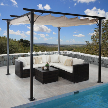 3x3m Durable Pavillon Garden Gazebo Metal Pergola Buy GazeboMetal