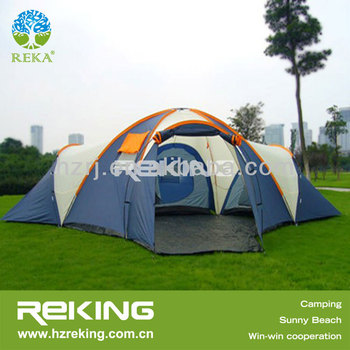 King Size Family Camping Tent With Three Rooms