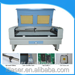 Jq 1390 100w For Engaving 6040 Sticker Printing Wood Craft Coconut Shell Laser Cutting And Engraving Machine