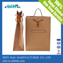 New Style Specialized Small Brown Paper Bags with Handles