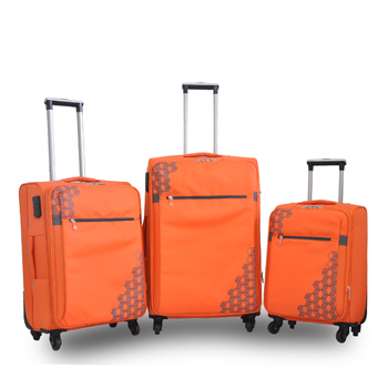 Nylon Bag Vip 4 Wheel Trolley Luggage Case