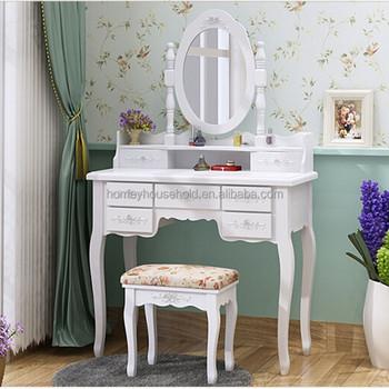 Coiffeuse Moderne Pour Chambre chêne taille de pas cher en bois coiffeuse conception miroir