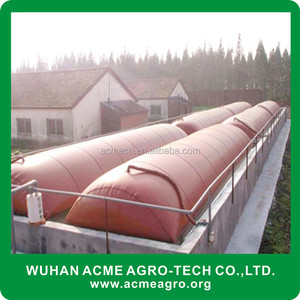 ACME Floating Cover Domestic Biogas Pit Latrine Waste Digester