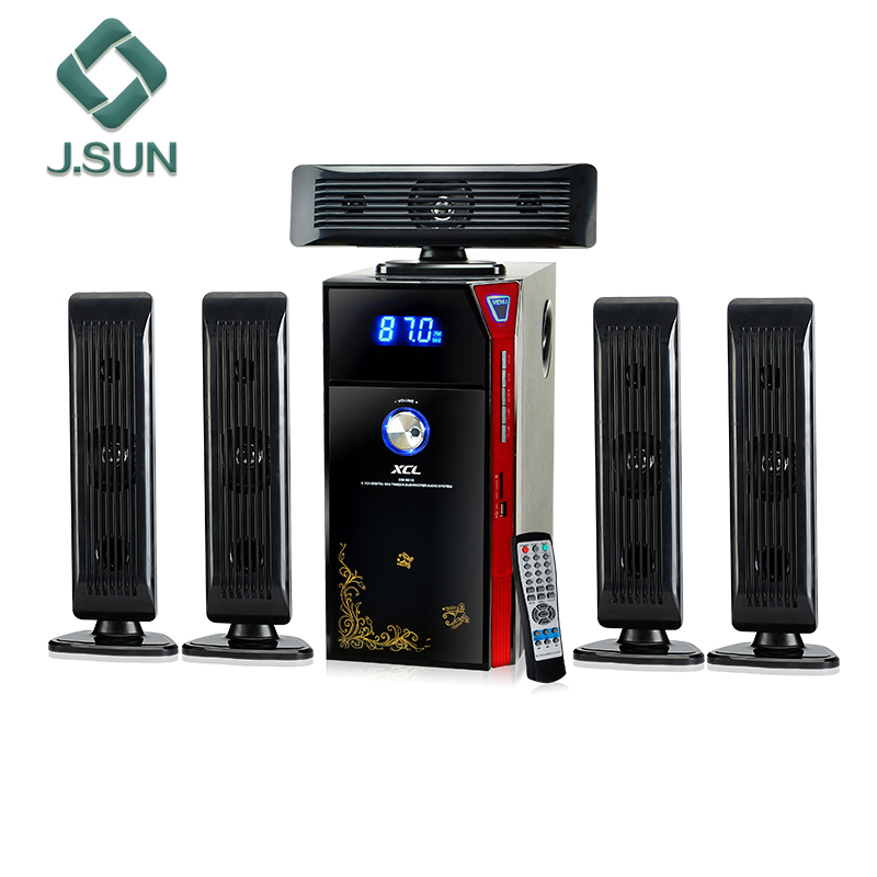Guangzhou XCL Brand 5.1 home theater speakers