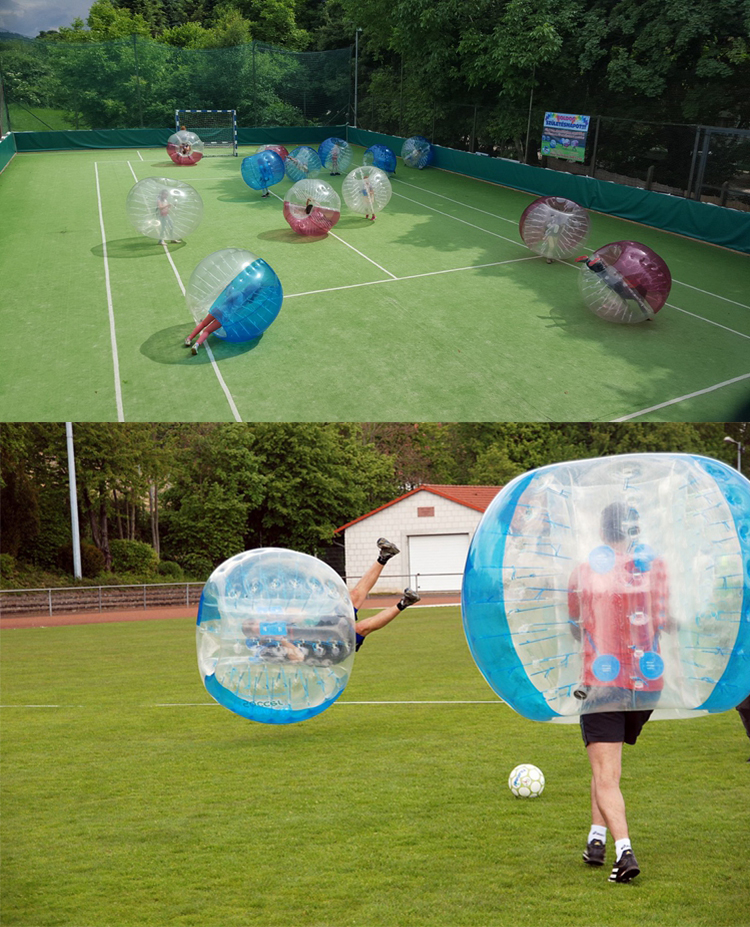 The 2018 Guangzhou Choice Hot Sale PVC/ TPU Human Body Inflatable Bumper Bubble Ball 1.2M 1.5M