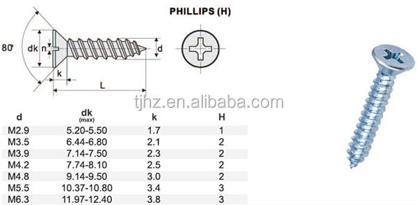 Head Self Tapping Screw Covers Buy Screw Covers Self