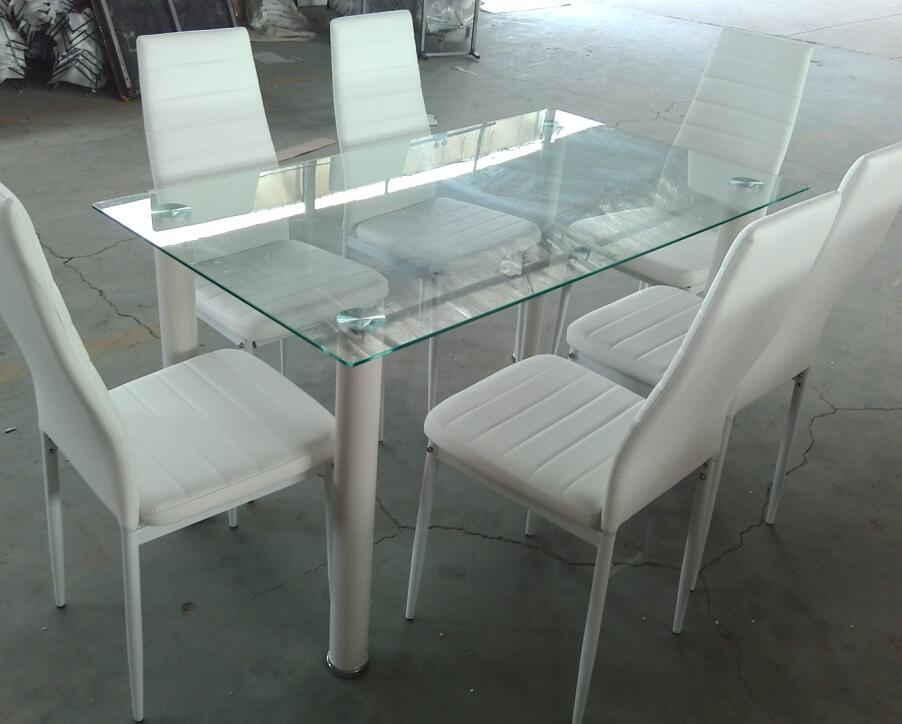 Tempered Glass Dining Table Set Suppliers And Manufacturers At Alibaba