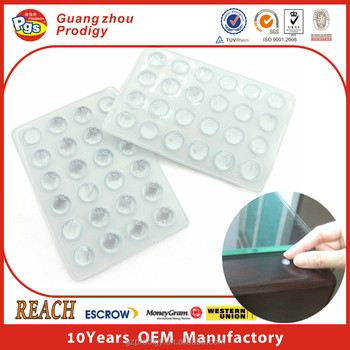Clear Sticky Bumper Protection Glass Table Rubber Bumpers Buy