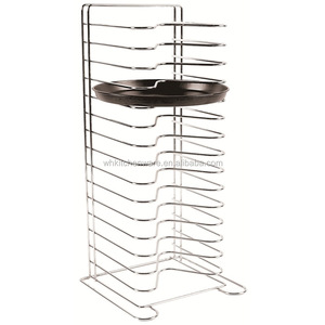 11 and 14 tiers wire pizza pan rack