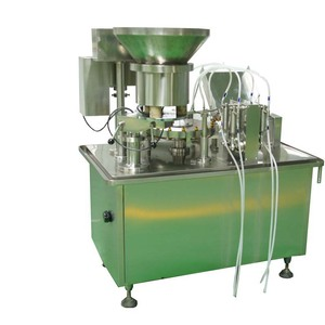 KGF-40 mini sealing machine/mini vial filling and sealing machine