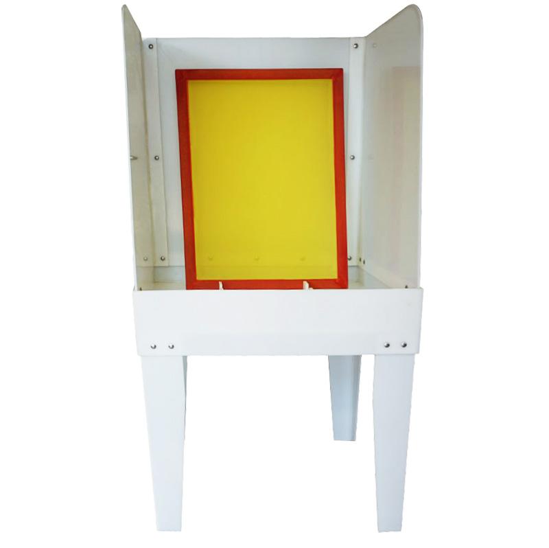 Calidad estable textil manual lavado cabina para lavado marcos de ...