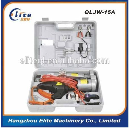 New Arrival Electric Car Jack 1.5ton ton and Impact Wrench 12v impact wrench