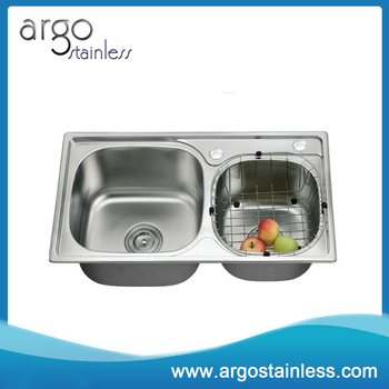 High Quality Sri Lanka Double Bowl Stainless Steel Kitchen Sink ...