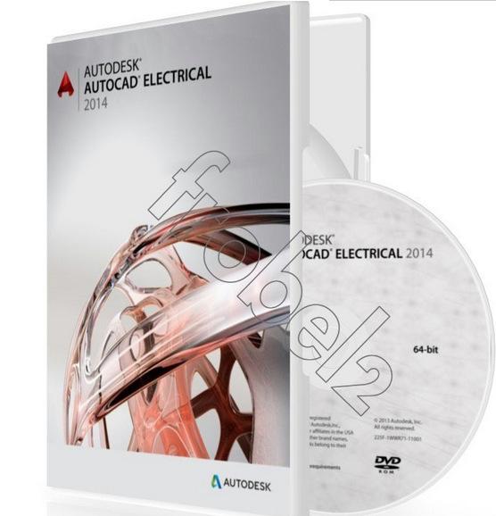 Autodes Autodesk AutoCAD электрический английский версия для победы 64 бит цвет коробка упаковка