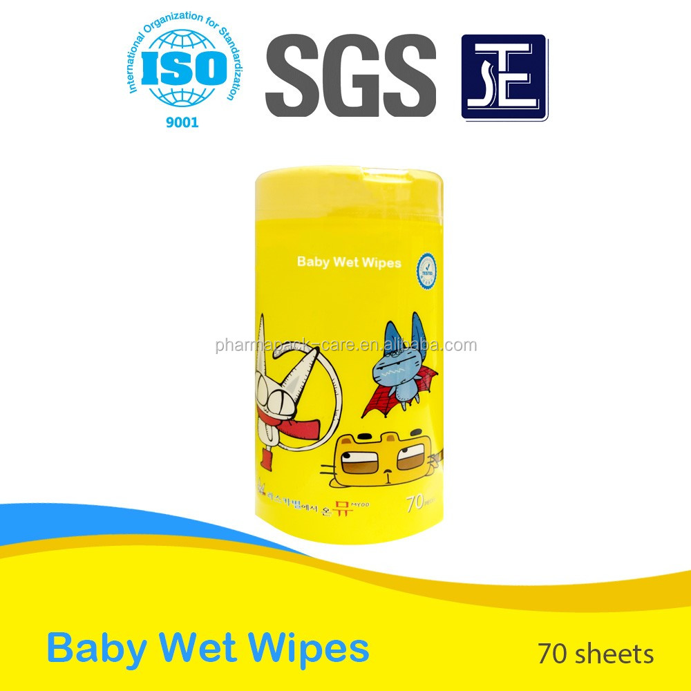 Quality-assured Best Price Baby Wet Wipes in a Can/Tube/Canister/Barrel