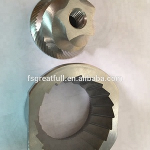 CNC machined coffee burr in conical shape espresso grinder coffee burr coffee machine metal parts