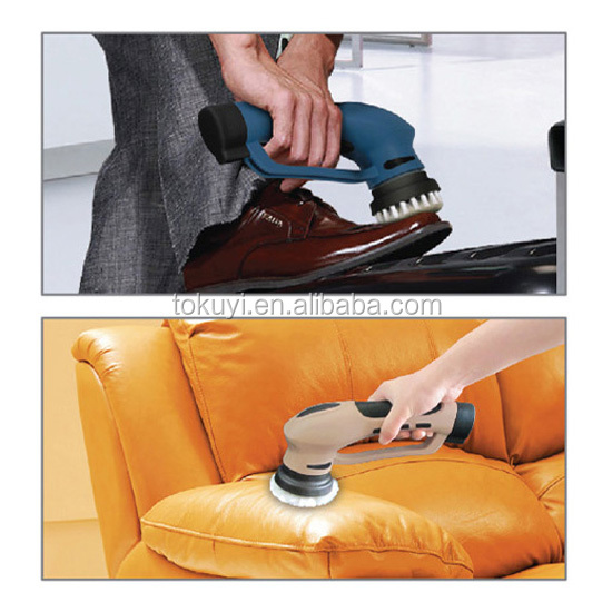 Electric Shoe Auto Cleaning Brush,Suitable For Leather Sofa Cleaning Too -  Buy Electric Shoe Cleaner Machine,Shoe Polishing Machine,Shoe Cleaning ...