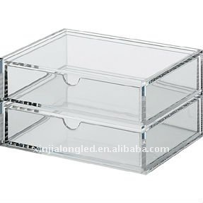 Stackable Acrylic Storage Box Or Acrylic Drawer With 2