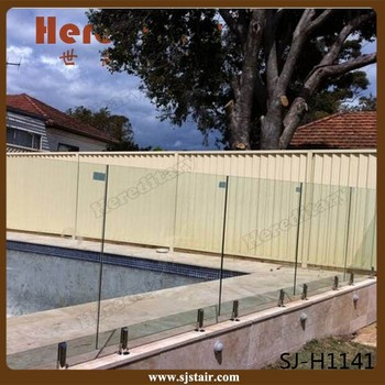 Australian Hot Sale Frameless Tempered Glass Pool Fencing With ...