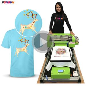 Digital Textile Tshirt Printing Machine uv printer for tshirt A3 Dtg Tshirt Printer For Sale With Low Price