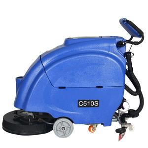 C510S ceramic tile floor cleaning machine , SU ZHOU factory floor scrubber dryer