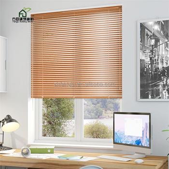 Fangju Professional Design Angle Adjustable Aluminium Baffle Blinds Windows