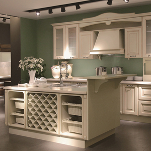 display kitchen cabinets for sale wood oak european style furniture