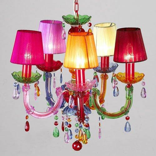online retailer 70f96 13b55 Plastic Candelabra Chandelier Lightings Gypsy Colored ...