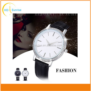 Famous brand jewelry crystal bracelet fastrack wrist watch for women