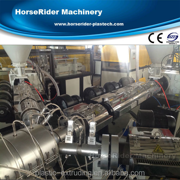 three layer PP-R pipe hose extruder making machine/ three layer PP-R pipe machine