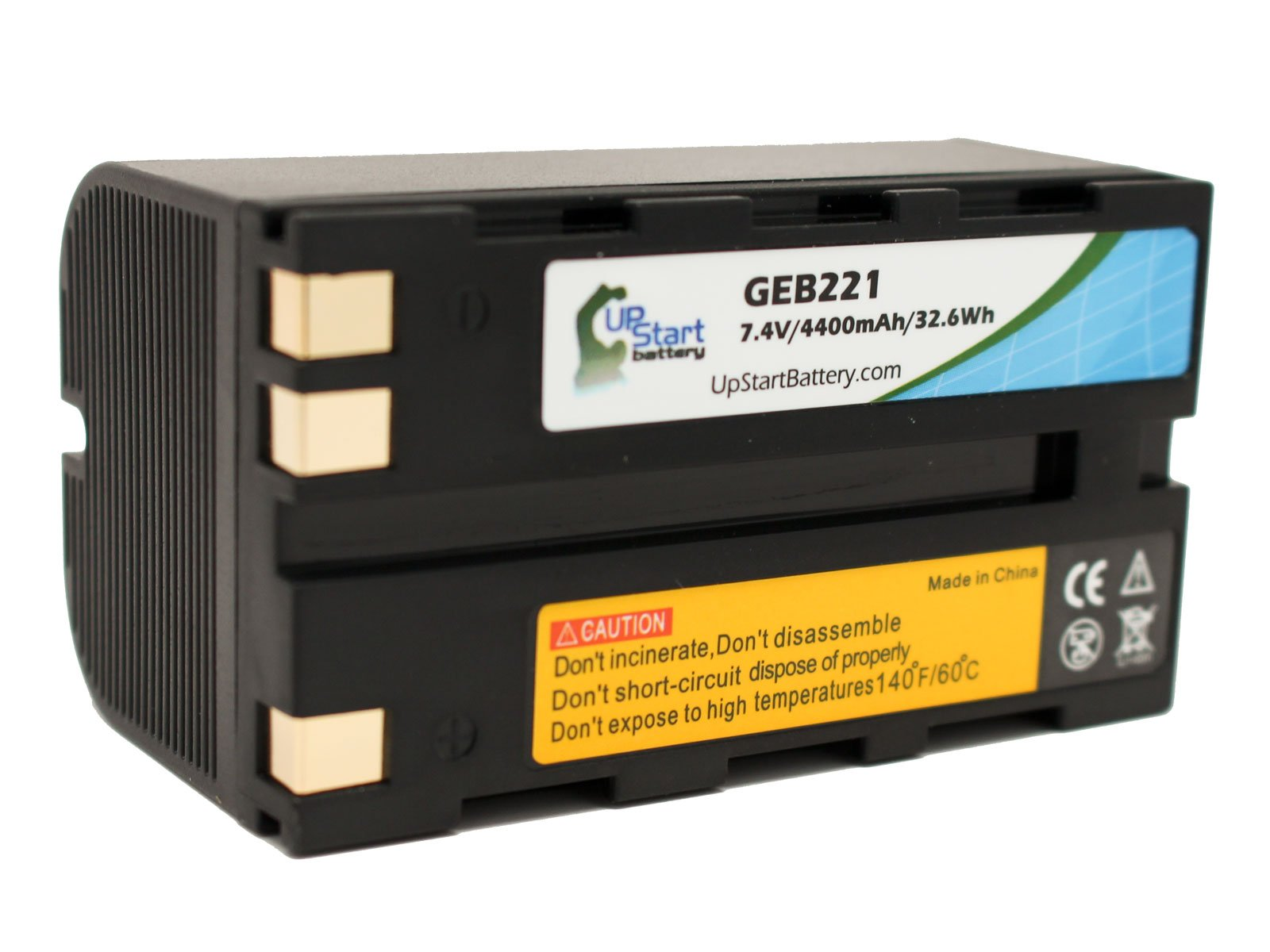 Leica GEB221 Battery Replacement (4400mAh, 7.4V, Lithium-Ion) - Compatible with Leica TPS1200, TC1200, ATX1230, GEB221, GPS1200, GPS900, GRX1200, GS20, GX1200, PIPER 100, PIPER 200, RX1200, RX900