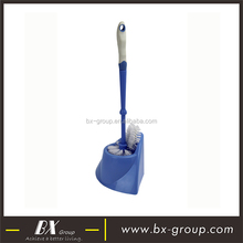 BX Group blue toilet bowl brush holder cool design place saving free stand double brush budget cost