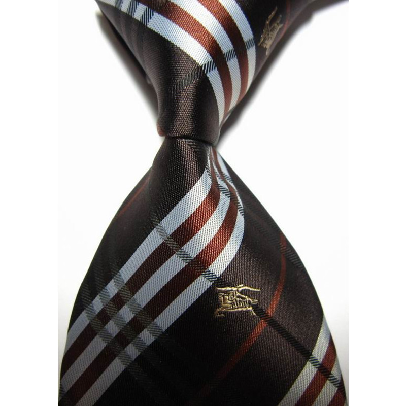 b2ae90ae5628 Get Quotations · Classic Fashion LV0100 Striped Brown Slim Tie For Men  Business Casual Paisley Neckties Brand Knit Silk