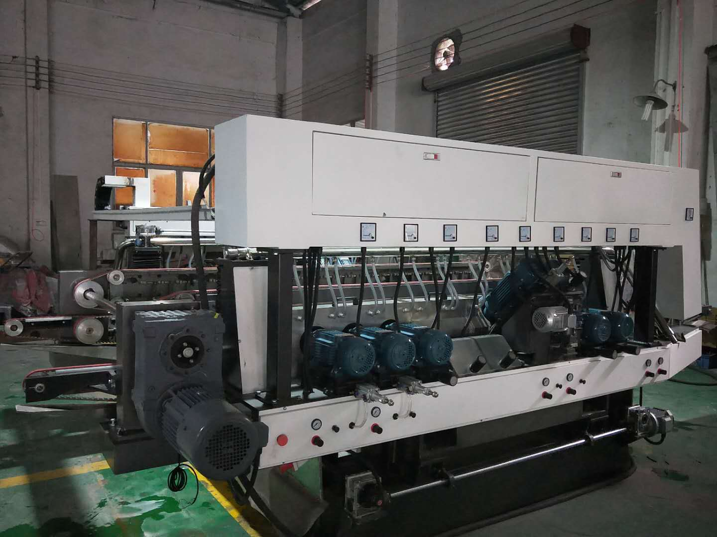 double edge machine JFD2100   18motrs