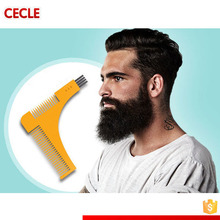 Latest design Beard Comb Facial Hair Shaping Tool Beard-Bro beard shaper