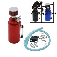 New arrived Racing Oil Catch Tank Racing Oil Can Catch Tank Can With Mini Air Filter and Inner Wire Mesh