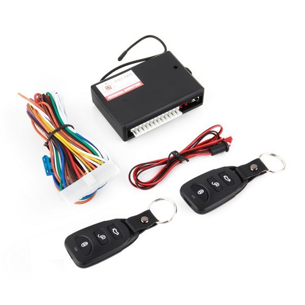 Universal Car Auto Centrale Kit Deurvergrendeling Locking Vehicle Keyless Entry Systeem Nieuwe Met Remote Controllers