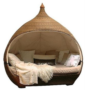 Outdoor Furniture Outdoor Round Wicker Lounge Bed Buy