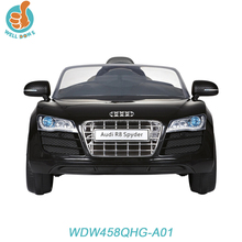 WDW458E Licensed AUDI R8 real car for kids with 2.4G remote control