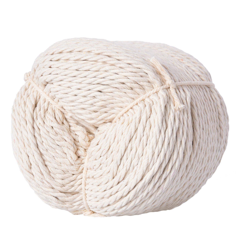 Buy Pangda Cotton Macrame Cord Twine, Craft Rope Yarn for DIY Plant