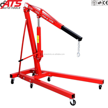 2Ton used shop crane 85kg foldable engine crane CE