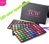 180 color cosmetic kit makeup multi colored eyeshadow/blush palette