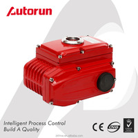 Factory Wholesale 380V/220V/110V AC 24V/110V DC Alloy Electric Actuator For Butterfly Valve